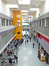 A view of the Common Area of Çankaya University Turkuaz campus.JPG