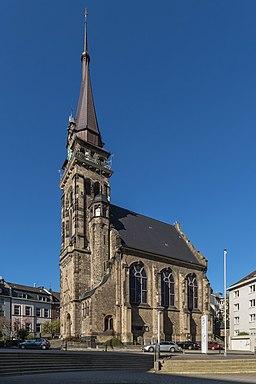 Aachen Dreifaltigkeitskirche 10 2017