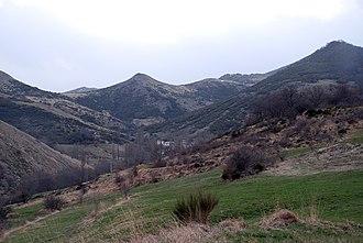 Matías Barrio y Mier - Palentine mountains near Verdeña