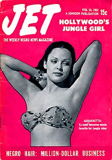 <i>Jet</i> (magazine) African-American weekly magazine formerly based in Chicago