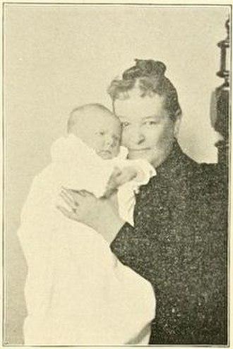 Joseph A. Scranton - Ada Elizabeth Meylert and her grandson