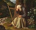 Adam August Müller - A dozing harpist (1832).jpg