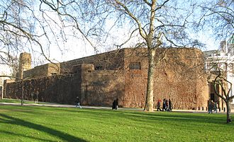 Fortifications of London - The Admiralty Citadel in 2008.