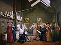 Adrienne Marie Louise Grandpierre-Deverzy, The Studio of Abel de Pujol, Musée Marmottan Monet.jpg