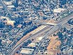 Aerial view of Irvington station site, September 2018.JPG