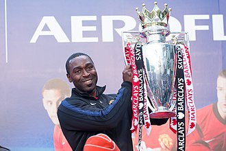 Andy Cole - Cole representing Manchester United in Tokyo, March 2014