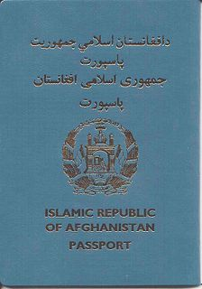 Afghan passport Passport of the Islamic Republic of Afghanistan issued to Afghan citizens