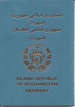 Visa Requirements For Afghan Citizens Wikipedia