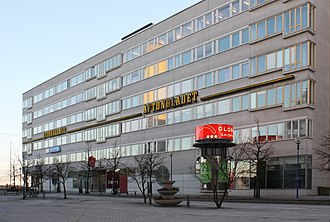 Aftonbladet - The tabloid Aftonbladet's headquarters in Stockholm.