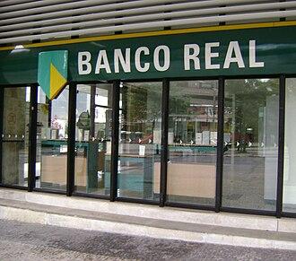 Banco Real - Banco Real branch, in Belo Horizonte.