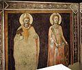 Agnolo gaddi, pietà e santi, 1375-90 ca. 01 biagio e caterina.jpg
