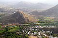 Agriculture farms in Aravalli Hills, Udaipur Rajasthan India 2015.jpg