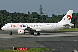 Airbus A320-214, Belle Air Europe JP7443700.jpg