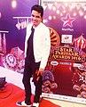 Akash Deep at Star Parivar awards.jpg