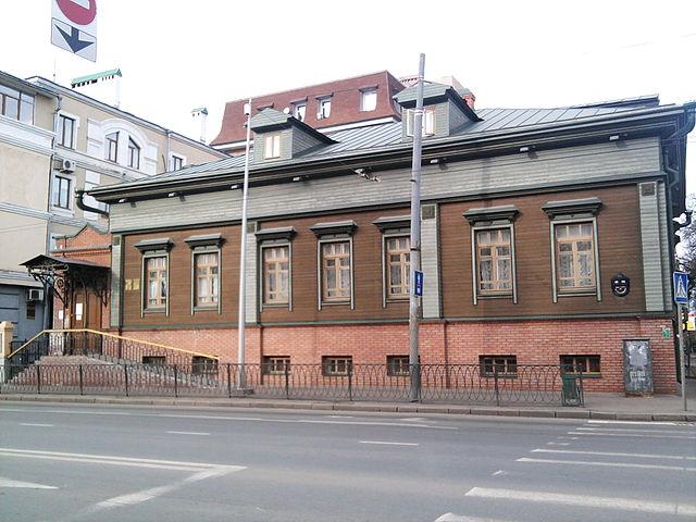 Дом №55/31 по улице Карла Маркса в Казани, в котором Василий Аксёнов жил с 1938 по 1948 годы
