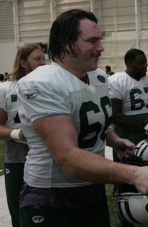Alan Faneca - Faneca with the Jets in 2009.