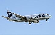 Alaska-737-4QB-YVR