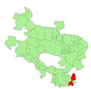 Oyón-Oion - Image: Alava municipalities Oyón