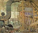 Albert Henry Robinson-Starting the Freighter (CWM 19880266-004).jpeg
