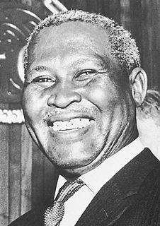 Albert Lutuli South African politician