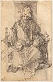 Albrecht Dürer - An Oriental Ruler Seated on His Throne.jpg