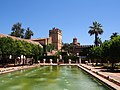 Alcázar of Córdoba and Gardens - 2013.07 - panoramio.jpg
