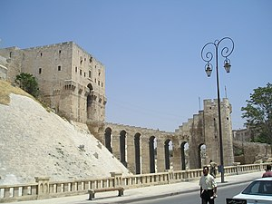 The Citadel of Aleppo, Syria.