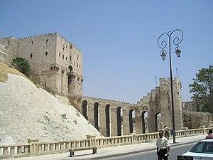 Citadel - The Citadel of Aleppo, Syria.