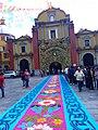 Alfombra de Fiestas Patronales en Orizaba, Veracruz.jpg