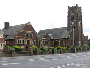 Alfreton - Watchorn School and Church