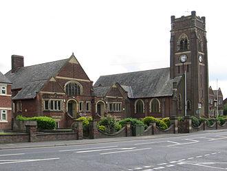 Alfreton - Watchorn School and Church