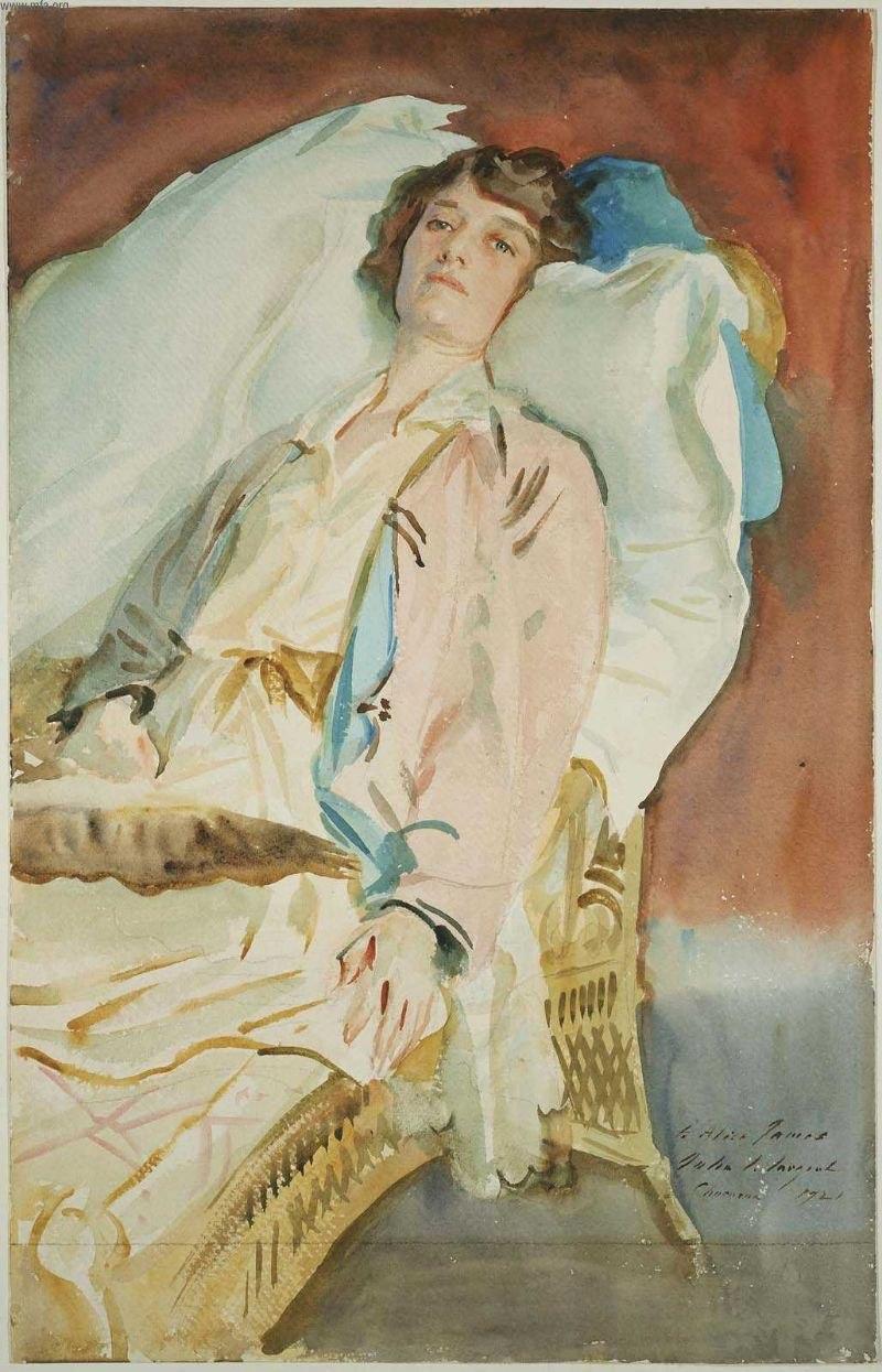 Alice Runnels James, 1921