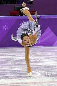 Alina Zagitova at the 2018 Winter Olympic Games - Short program 06.jpg