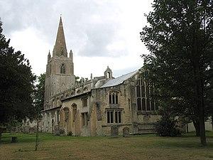 Walsoken - Image: All Saints, Walsoken, Norfolk geograph.org.uk 321038