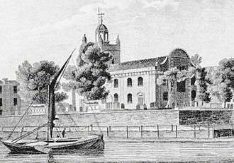 Isleworth - All Saints Church, early 19th century