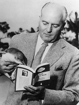 Allen Lane - Photo of Penguin founder Sir Allen Lane, London Zoo. Source: Lane Family.
