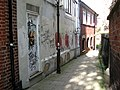 Alley linking St Benedicts and Westwick Street, Norwich - geograph.org.uk - 2102308.jpg