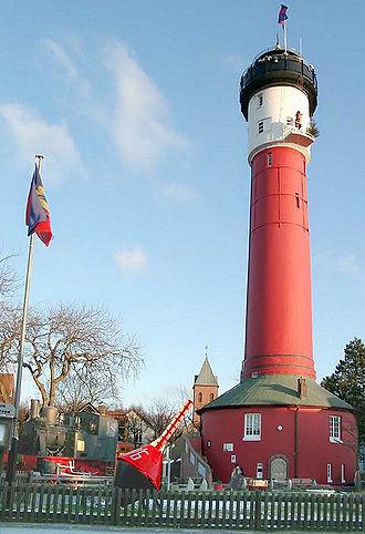 Wangerooge - Image: Alter Leuchtturm 01