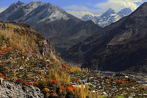 Hunza Valley - Hunza Valley in late autumn