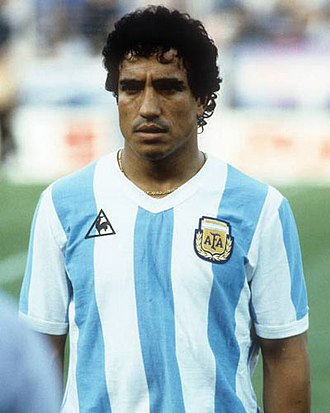 Américo Gallego - Gallego with the Argentina national team  at the 1982 FIFA World Cup