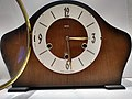 Amberly clock made by Smiths, Door Open view.jpg