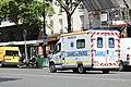 Ambulance sur le boulevard du Montparnasse à Paris le 30 juillet 2015 - 1.jpg
