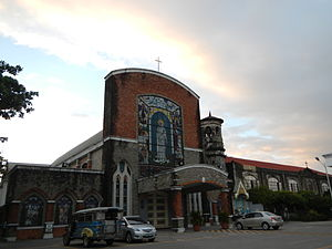 Mexico, Pampanga - Sta. Monica Parish Church, Parian