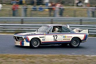 BMW E9 - 1973 BMW 3.0 CSL