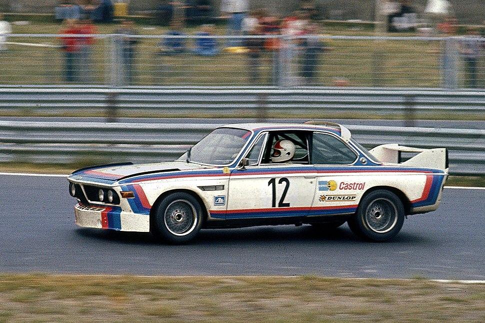 Amon, Chris - BMW 3,5 CSL (1973-07-08 Sp)