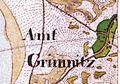 Amt Grimnitz-Urmesstischblatt 3048 Joachimsthal 1826.jpg