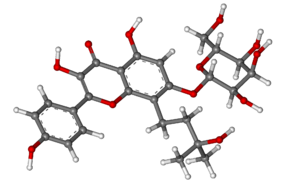 Amurensin (flavonol) - Image: Amurensin ball and stick
