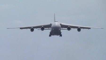 File:An-124 Ruslan, Landing, Lviv Airport.ogv