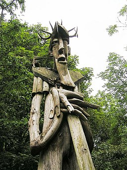 Ancient Forester, Grizedale Forest - geograph.org.uk - 361537