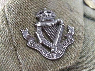 Connaught Rangers - Connaught Rangers Badge 1914
